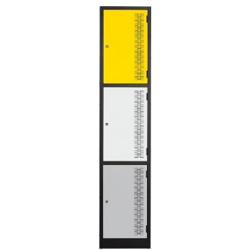 Contemporary Lockers 3 Door
