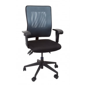 Deluxe Mesh Ergonomic Office Chair - Medium Back
