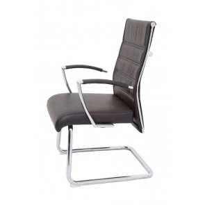 LA Leather  Vistor Chair - High Back