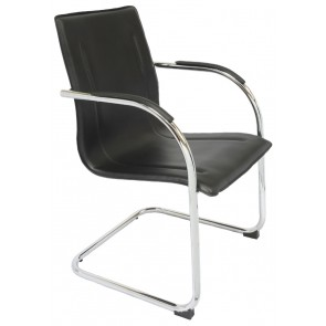 Cantilever Chrome Frame Visitor's Chair