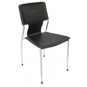 4 Leg Chrome Frame Visitor's Chair