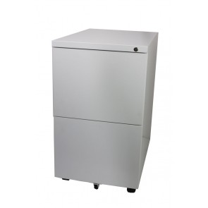 Value 2 Drawer Mobile Cabinet