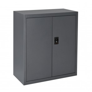 Economy Stationary Cupboard Low Graphite Ripple