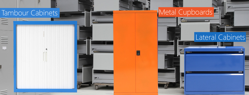 Tambour Cabinets, Stationary Cabinets